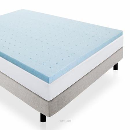 Gel Infused Ventilated Memory Foam Mattress