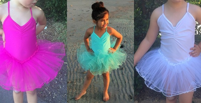 Little Girls Tutu Leotard