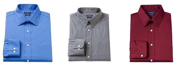 Men's Big & Tall Croft & Barrow Dress Shirts