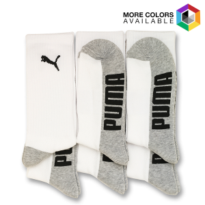 Men's Moisture Wicking Puma Crew Socks