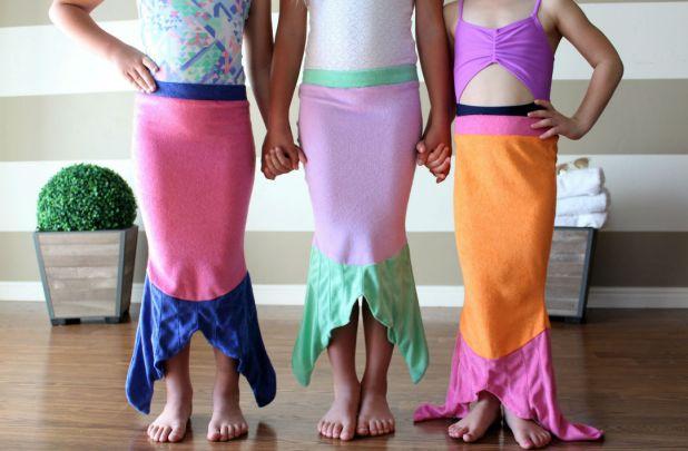 Mermaid Tail Swim Cover