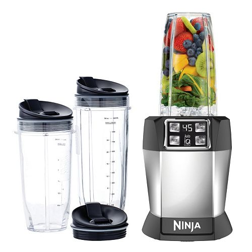 Nutri Ninja® Single Blender with Auto-iQ