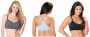 Oh Baby by Motherhood Racerback Nursing Sports Bra