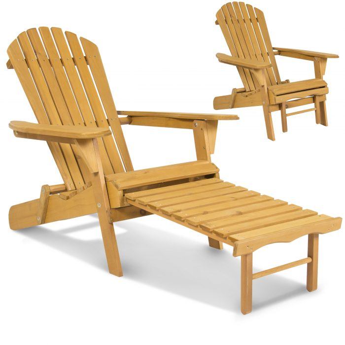 Very Impressive portraiture of Adirondack Wooden Chair Foldable w/ Pull Out Ottoman for $69.95 (Reg $  with #AF781C color and 2600x2600 pixels