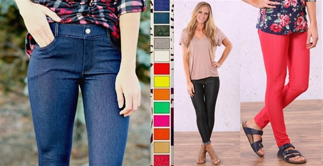 Perfect Fit Colorful Jeggings
