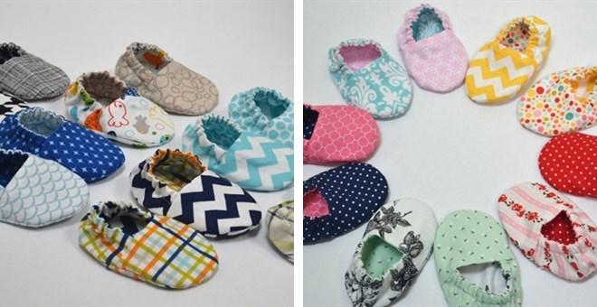 Reversible Crib Shoes