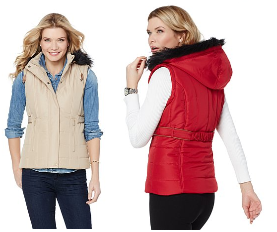 Sporto Water-Resistant Quilted Vest