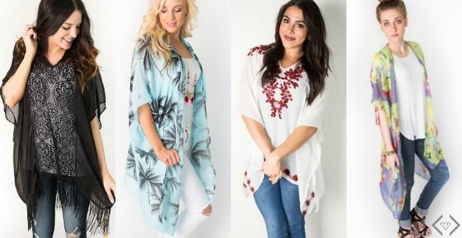 Summer Kimonos + Ponchos