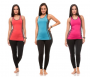 Women's Active Stretch Racer-Back Tank Top