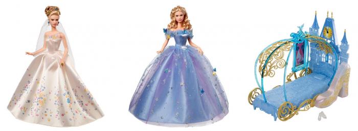 disney princess cinderella live action movie dolls