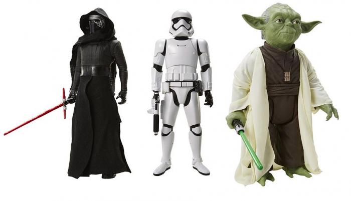giant star wars kyle ren storm trooper yoda