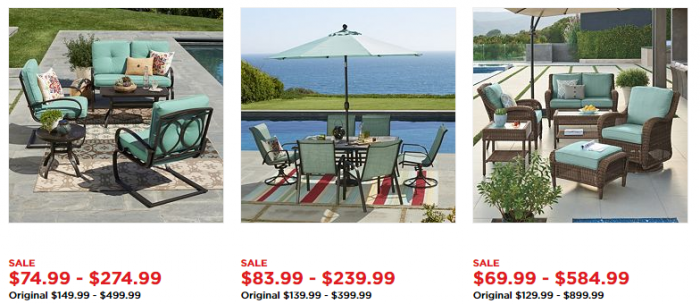Hot Deals On Patio Furniture 3 Piece Set For Get 30 Kohl S Cash Utah Sweet Savings