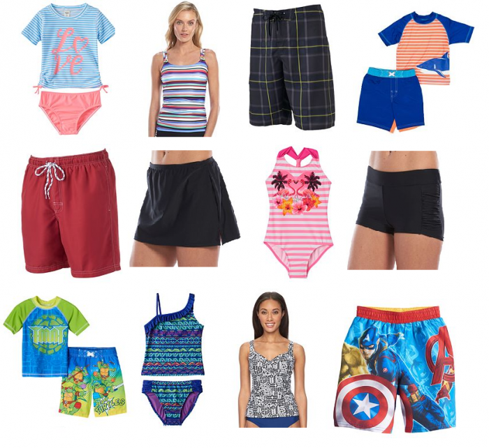 b672f3391cb This weekend Kohl's has some awesome deals on swimsuits for the entire  family! Remember to use these codes and promos: