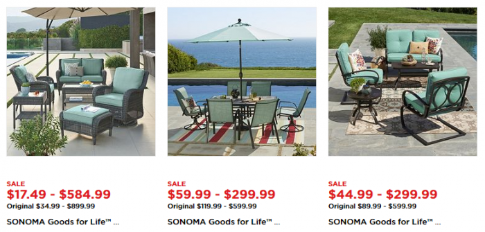 Kohl s Patio Furniture