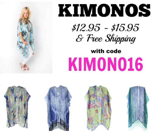 spring kimonos
