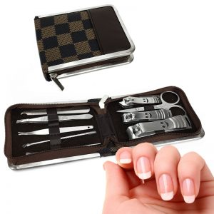 10 Piece Stainless Steel Manicure Set