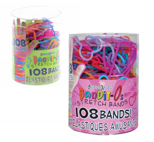 108 Bandit-O's Stretch Bands by Fashion Angels