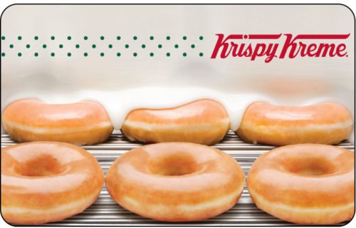 $25 Krispy Kreme Gift Card For Only $21.25