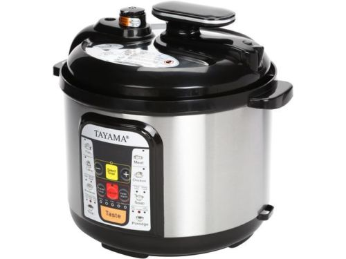 5-Liter 5-in-1 Multi-Cooker and Pressure Cooker