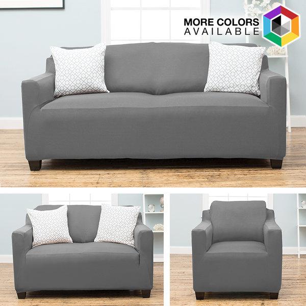 Dawson Form Fit Stretch Fit, Slip Resistant, Stylish Furniture Slip Cover