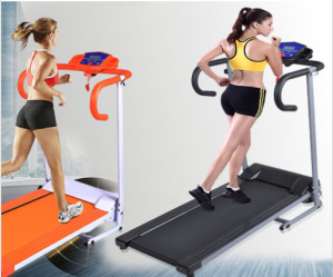 Electric Treadmill Portable Motorized Running Machine