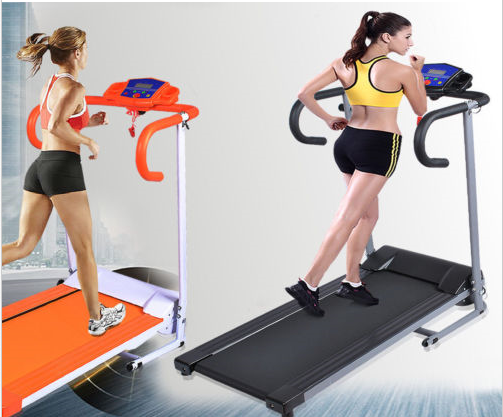 Electric Treadmill Portable Motorized Running Machine