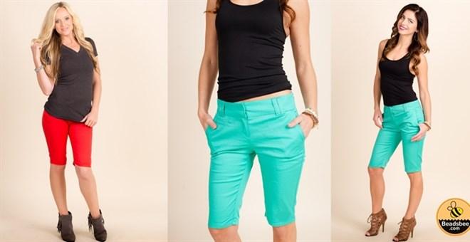 High Quality Bermuda Shorts