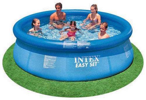 Intex 10 x 30 Easy Set Above Ground Swimming Pool