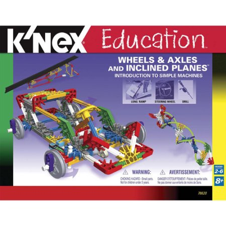 K'nex Education Wheels & Axles and Inclined Planes Building Set