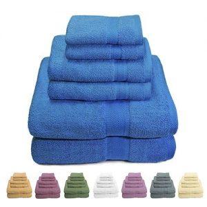 Luxurious 100% Cotton Bath Towels