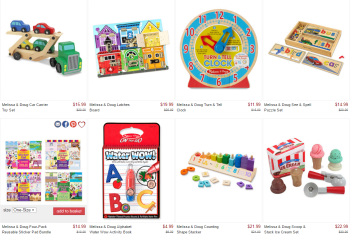 Daily toy deals online