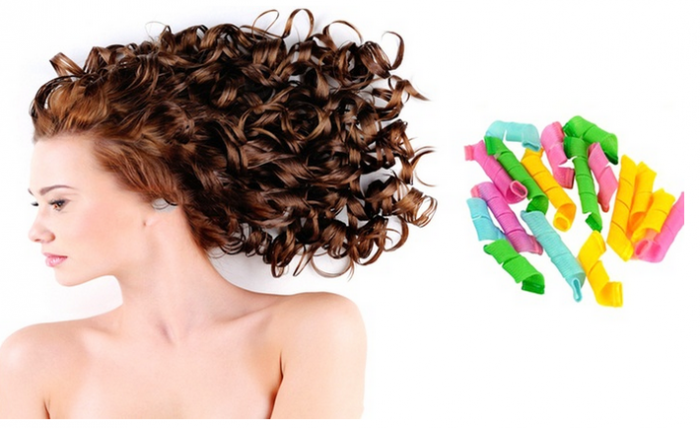 No-Heat Miracle Curlers Set