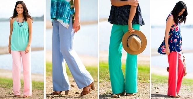 Oceanside Linen Pants