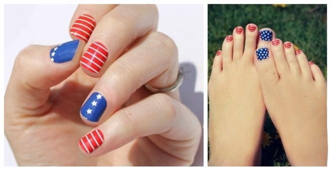 Patriotic Nail Wraps