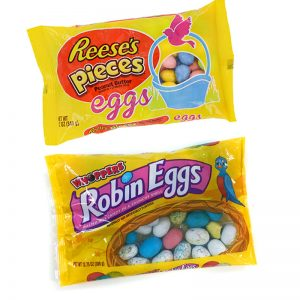 Reese's Pieces Eggs and Whoppers Robin Eggs Candy