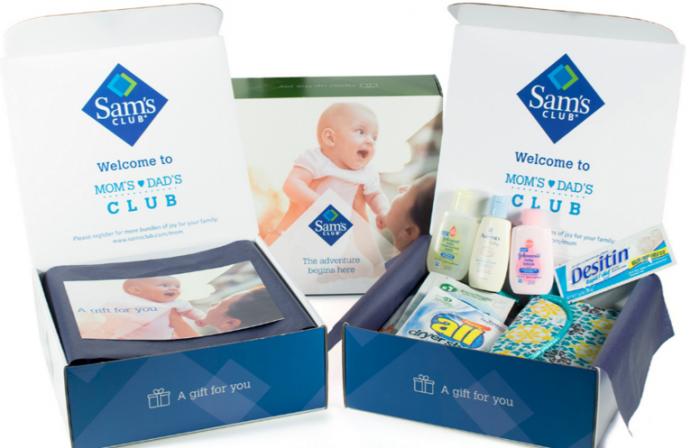 Sams Club baby box