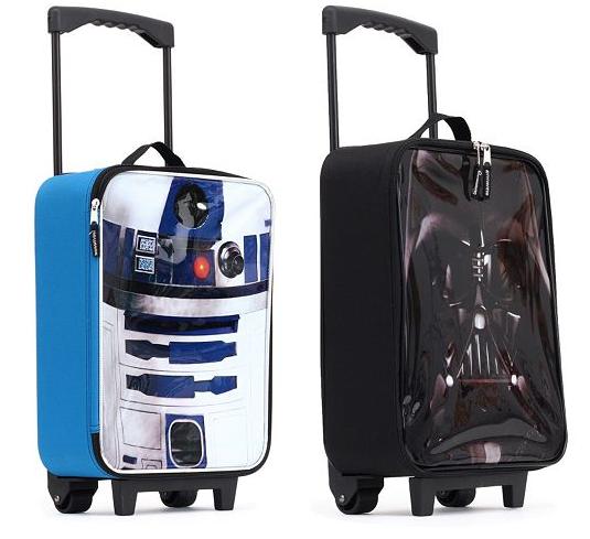 Star Wars R2D2 or Darth Vader Suitcase