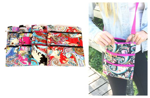 Summer Floral Cross Body Bags - 6 Styles