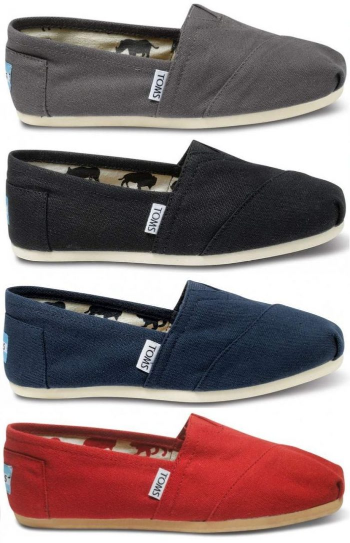 6bf993ed0b7c8 Toms Classic Canvas Women s Slip-On Shoes  34.99 Shipped (Reg  48 ...