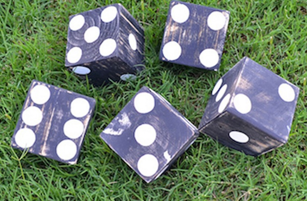 Unfinished Lawn Dice