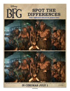 bfg spot the different