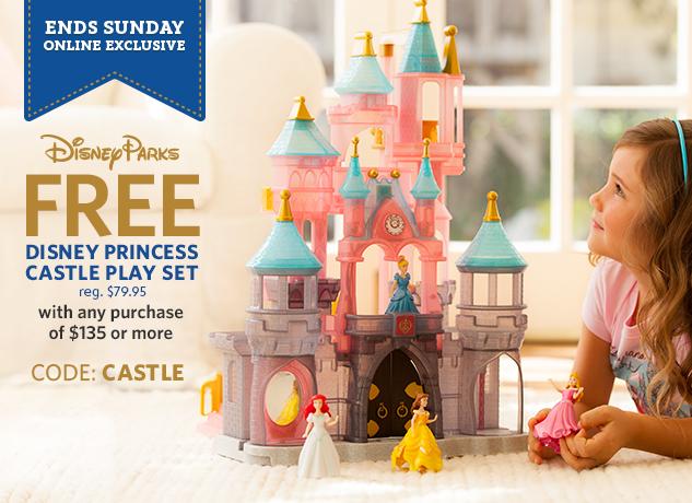 disney free princess castle