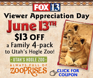fox 13 hogle zoo viewer appreciation day