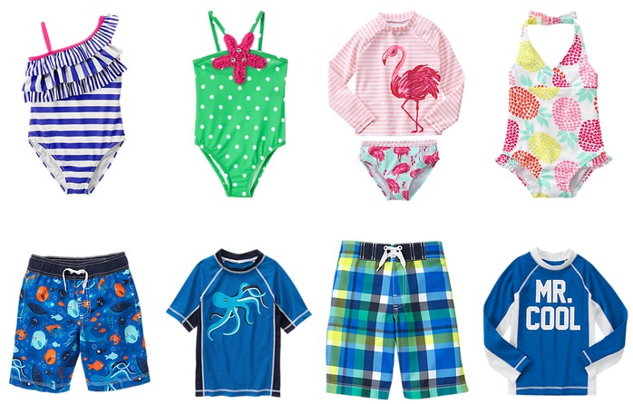 gymboree swimwear