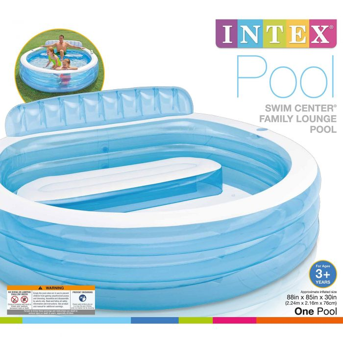 Intex Swim Center Family Lounge Pool For Utah Sweet Savings