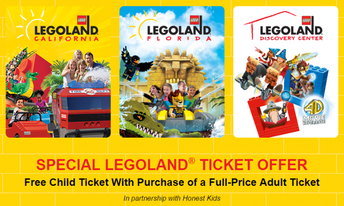 legoland bogo ticket