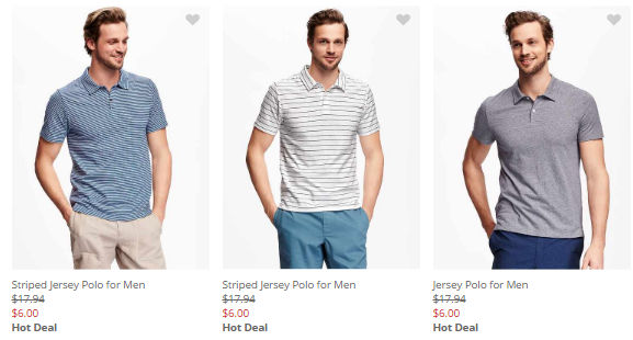 mens polos old navy