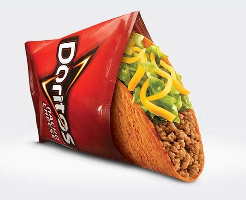 taco bell free doritos loco taco