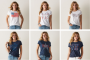 womens patriotic tees
