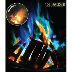 12 Pack of Big Fire - Amazing Color Changing Fire Packets